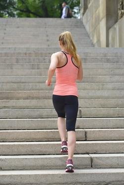 階段と脚やせ